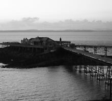The Old Pier at weston super mare by RoseMae