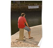 Sittin' on the Dock of the Bay Poster