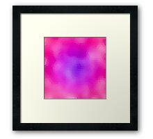 Rose-Violet Dream (Glass) Framed Print