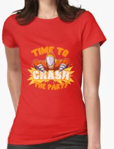 Time to Crash the Party Womens Fitted T-Shirt