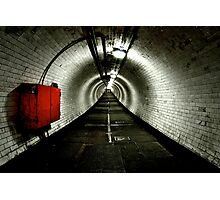 Greenwich Tunnel Photographic Print