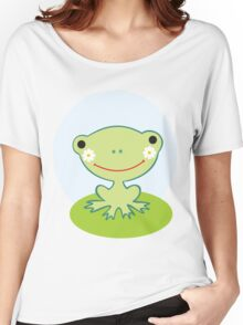Little smiling frog Women's Relaxed Fit T-Shirt