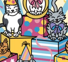 Party Cats Sticker
