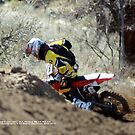 """Catch Me ... If you can""!  Honda Rider, A.J. Hedger #6, I-5 MX, Gorman, CA USA Lei Hedger Photography All Rights Reserved by leih2008"