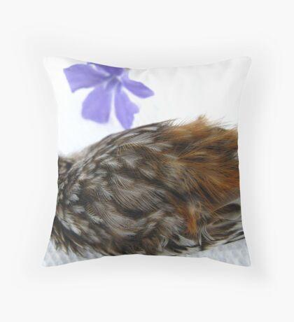 Brown Creeper Elegy Throw Pillow