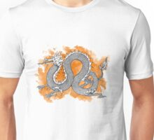 Orange dragon Unisex T-Shirt
