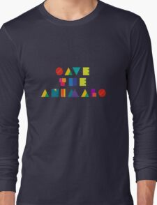Save The Animals Long Sleeve T-Shirt