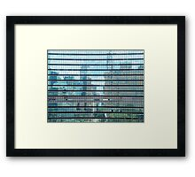 Reflection In United Nations Framed Print