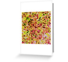 Summer Flowers (Glass) Greeting Card