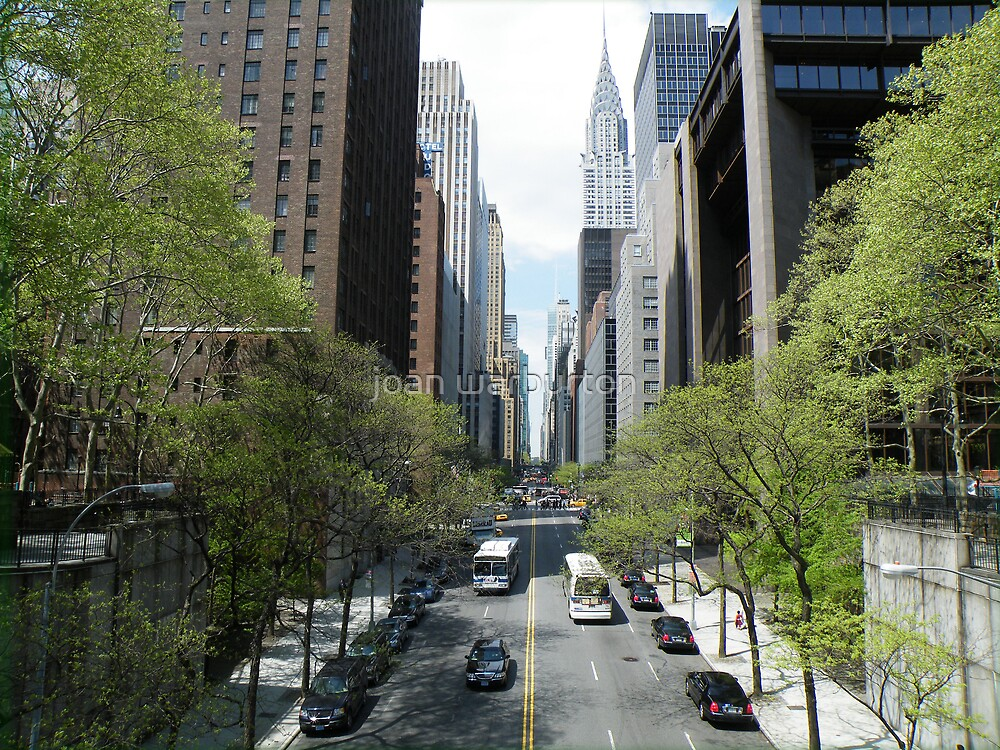 Forty-second Street From Tudor City by joan warburton