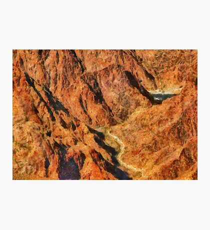 Grand Canyon - A look into the Abyss Photographic Print
