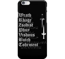 The Brothers [ the Black Dagger Botherhood ] iPhone Case/Skin
