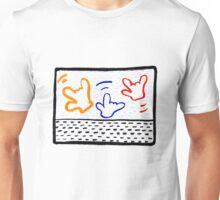 3 Haring ILYs Unisex T-Shirt