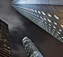 Hong Kong From Below by aaronsmith