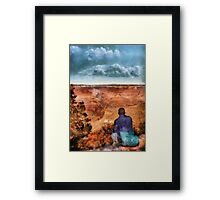Grand Canyon - The Vista Framed Print