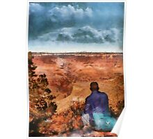 Grand Canyon - The Vista Poster