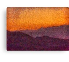 Nevada - Rolling Hills Canvas Print