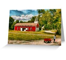 Fireman - I want to be a firefighter Greeting Card