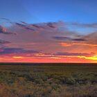 Pilbara Sunset 1 (HDR Panorama) by Heather Linfoot