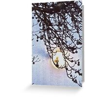 Blue Moon Greeting Card