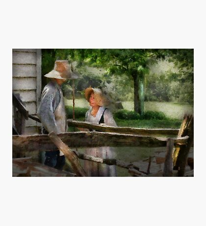Lover - The Courtship Photographic Print