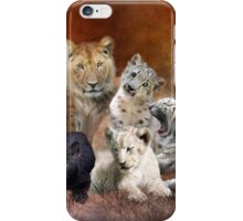 Young & Wild iPhone Case/Skin