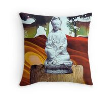 Mother One-the Sacred Feminine Throw Pillow