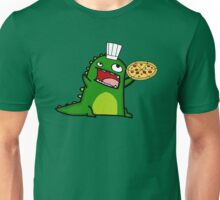 Dinosaur Pizza Chef Unisex T-Shirt