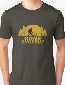 Gone Shoppin Squatch Hunter T-Shirt