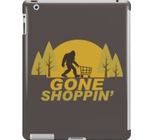 Gone Shoppin Squatch Hunter iPad Case/Skin