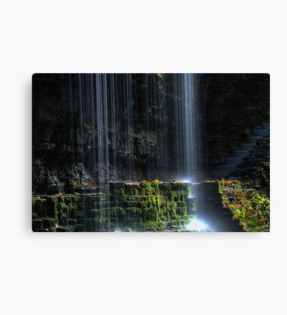 Showered Canvas Print