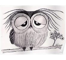 Its Been a Long Day - Mr. Owl Poster