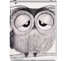 Its Been a Long Day - Mr. Owl iPad Case/Skin