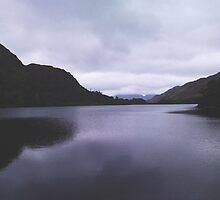 Ireland's dark lake by Margotte