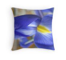 Iridiscent Iris Throw Pillow