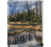 The Provo River on the Mirror Lake Highway iPad Case/Skin