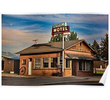 Swiss Mountain Motel Poster
