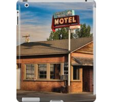 Swiss Mountain Motel iPad Case/Skin