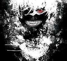 Tokyo Ghoul-Kaneki Ken by PollyThePlatypu
