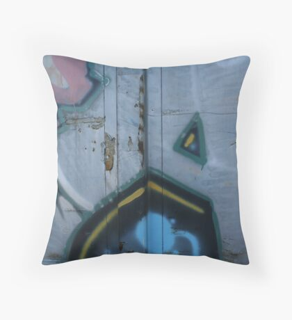 Train Car Color Throw Pillow