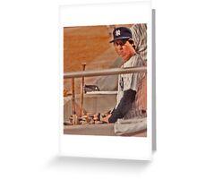 Bobby Murcer 1946-2008 Greeting Card