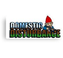 Domestic Disturbance Canvas Print