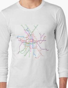 Berlin Metro Long Sleeve T-Shirt