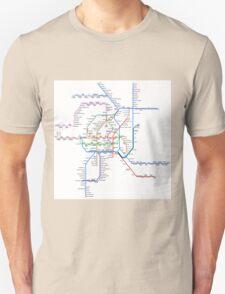 Vienna Metro Unisex T-Shirt