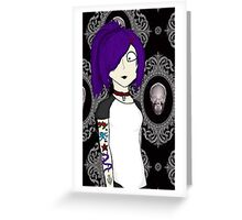 Punk girl Greeting Card