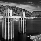 Hoover Dam & Lake Mead by MClementReilly