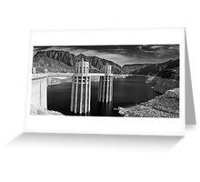 Hoover Dam & Lake Mead Greeting Card
