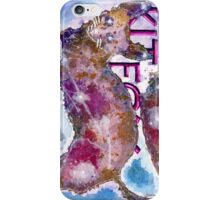 Kitfox Watercolor iPhone Case/Skin