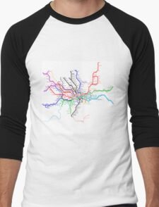 London Metro Men's Baseball ¾ T-Shirt