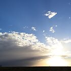 Great Northern Sunset (Un-edited Panorama) by Heather Linfoot